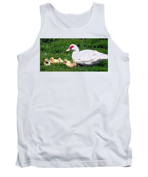 Ducks Tank Top by Charles Shoup