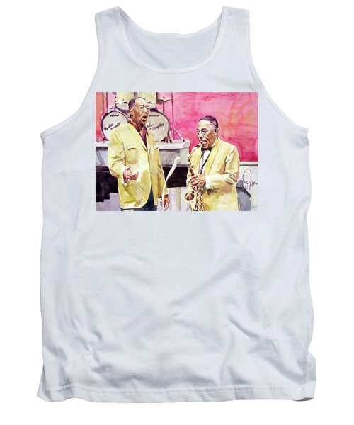 Duke Ellington And Johnny Hodges Tank Top