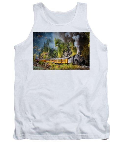 Durango-silverton Narrow Gauge Railroad Tank Top
