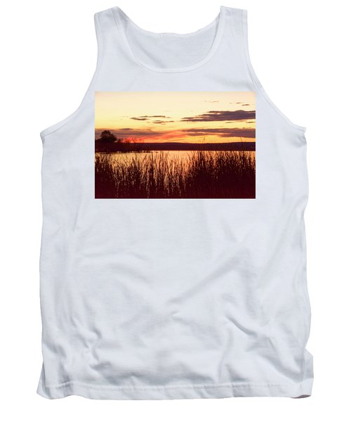 dusk on Lake Superior Tank Top
