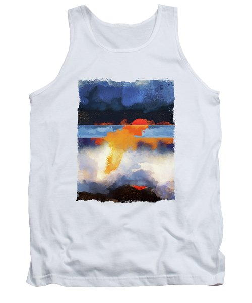 Dusk Reflection Tank Top
