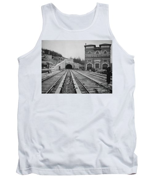 Tank Top featuring the photograph Dyckman Street Station by Cole Thompson