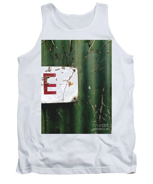 Tank Top featuring the photograph E by Rebecca Harman