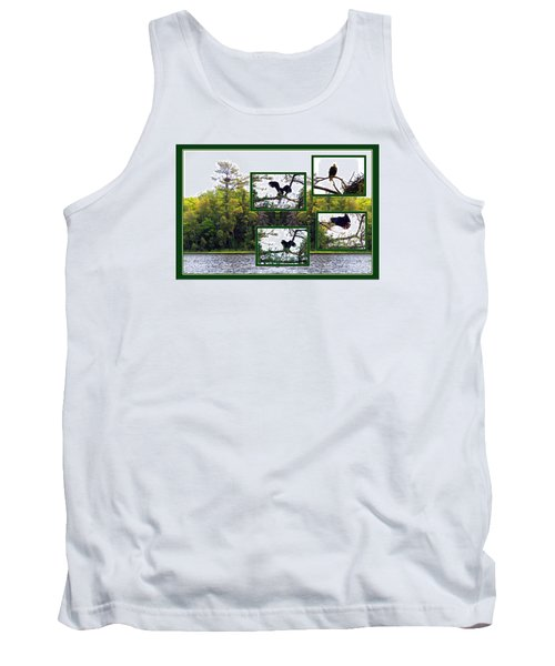 Eagle Collage Tank Top by Teresa Schomig