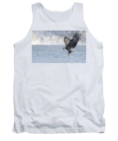 Eagle Fishing  Tank Top by Kelly Marquardt