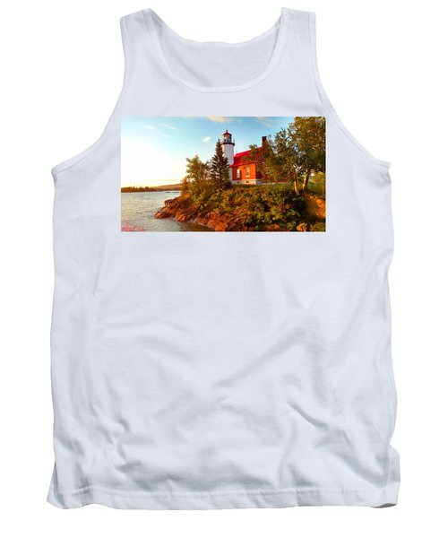 Eagle Harbor Lighthouse Tank Top