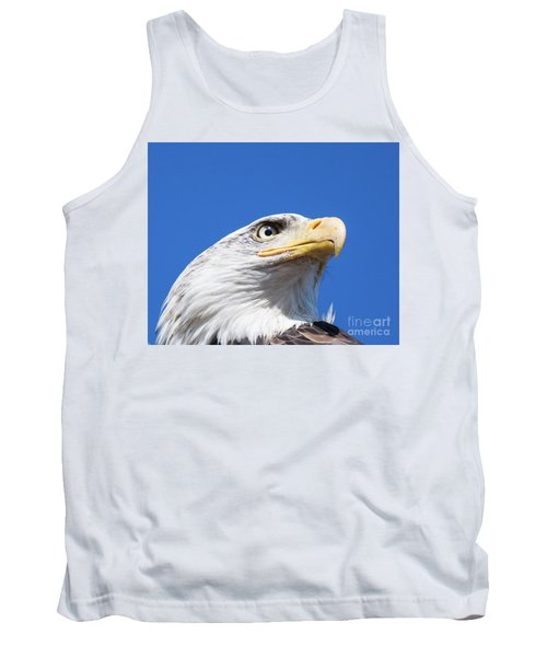 Tank Top featuring the photograph Eagle by Jim  Hatch