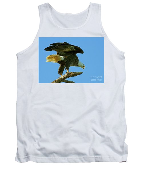 Eagle Mom, The Scolding Tank Top