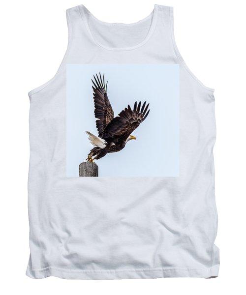 Eagle Taking Flight Tank Top