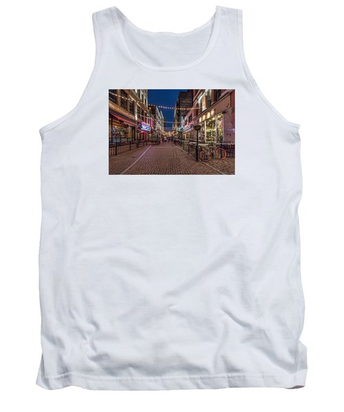 Tank Top featuring the photograph Early Evening On E. 4th by Brent Durken