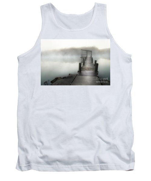 Yesterday's Early Morning Pier Tank Top by Tamyra Ayles