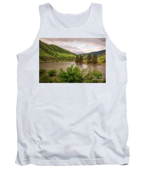 Early Morning Smoothy Waterscape Art By Kaylyn Franks  Tank Top