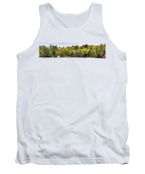 Early Spring Panorama Tank Top by David Patterson