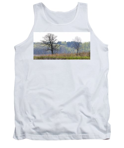 Early Spring Silhouettes  Tank Top