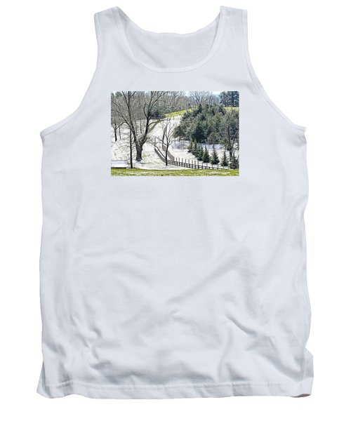 Early Winter Pasture Tank Top