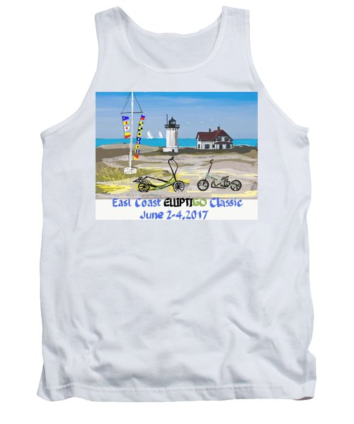 East Coast Elliptigo Classic  Opus 3 Tank Top