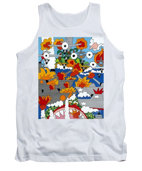East Meets West Tank Top