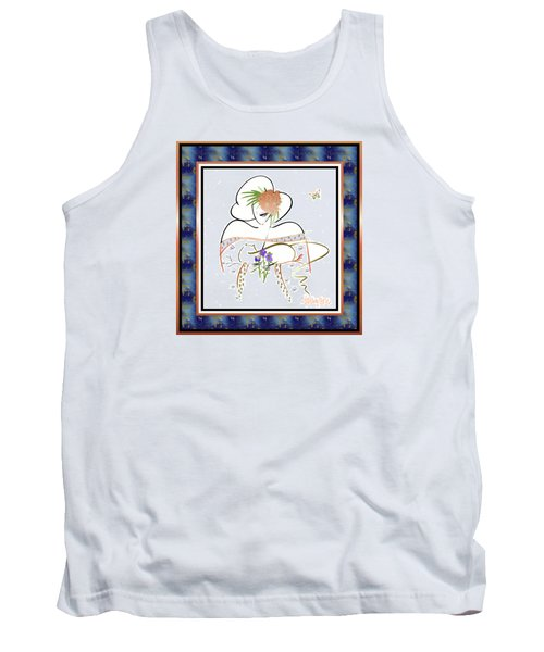 East Wind - Temple Cat Tank Top