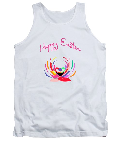 Easter Basket Tank Top by Methune Hively