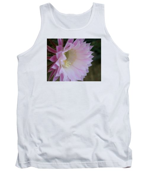 Easter Lily Cactus East 2 Tank Top by Marna Edwards Flavell