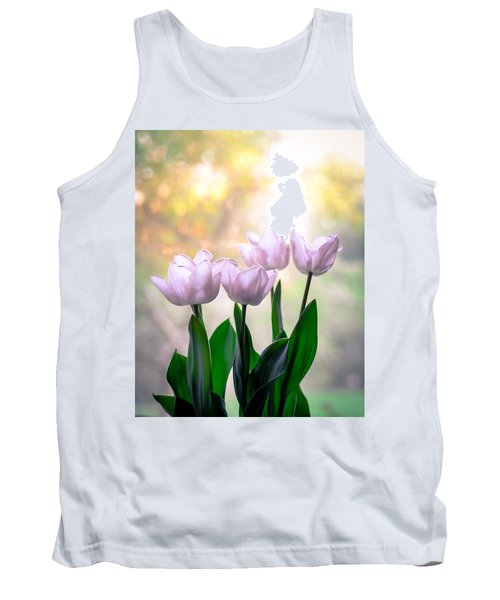 Easter Tulips Tank Top