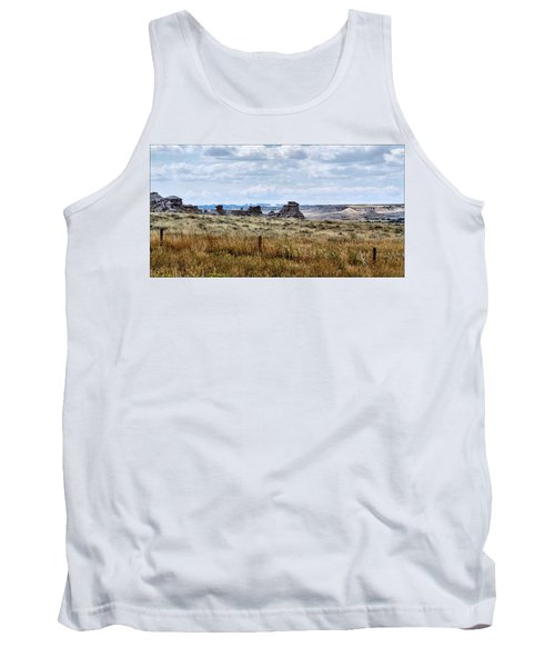 Eastern Wyoming Sky Tank Top