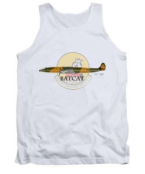 Ec-121r Batcat 553 Tank Top