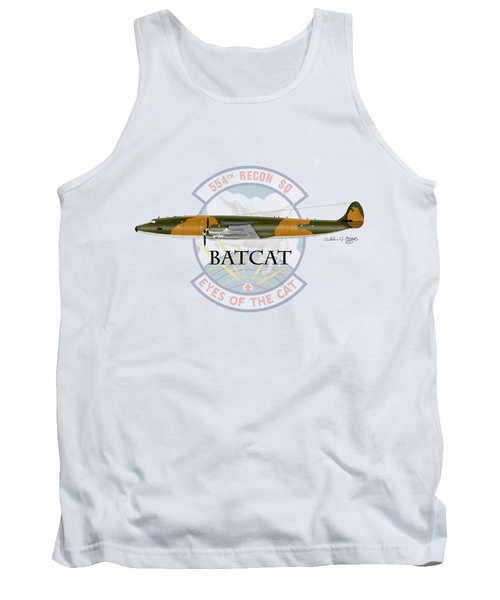 Ec-121r Batcat Tank Top