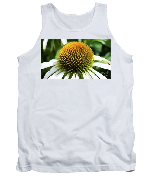 Tank Top featuring the photograph Echinacea - Head And Shoulders by Wendy Wilton