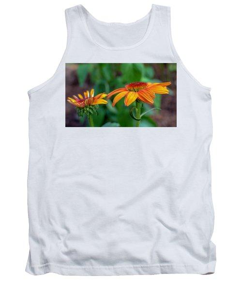 Echinacea Side View Tank Top