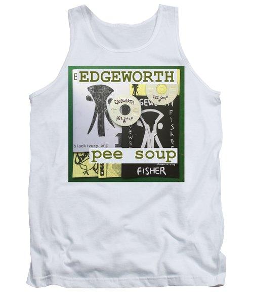 Edgeworth Pee Soup Album Cover Design Tank Top