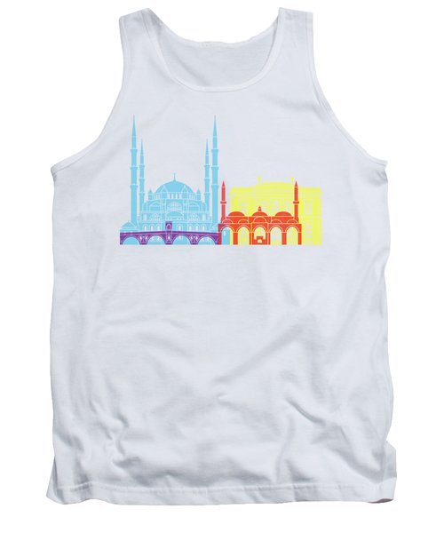 Edirne Skyline Pop Tank Top