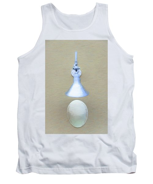 Tank Top featuring the photograph Egg Drop Lamp by Gary Slawsky