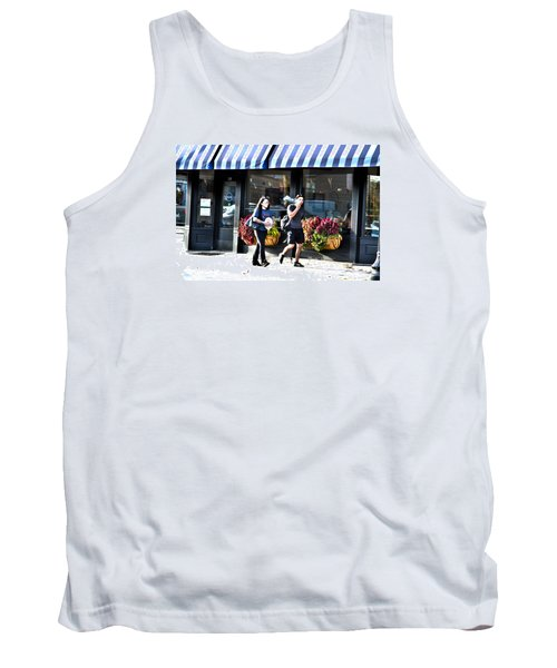 Egg Transport Tank Top