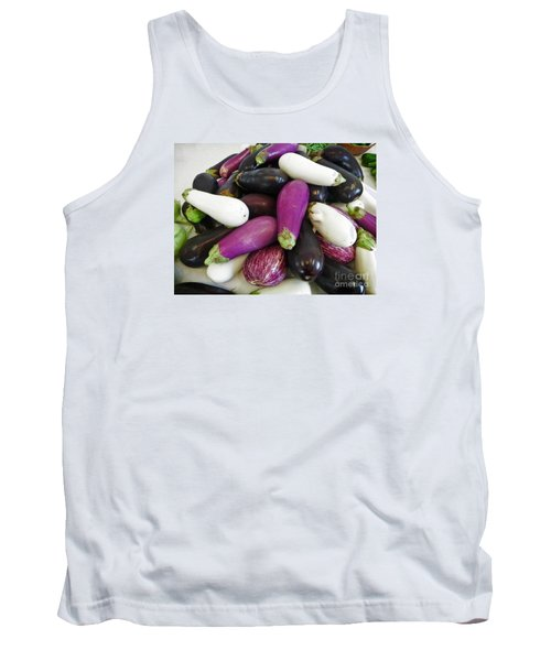 Eggplant Varieties Tank Top by Dee Flouton