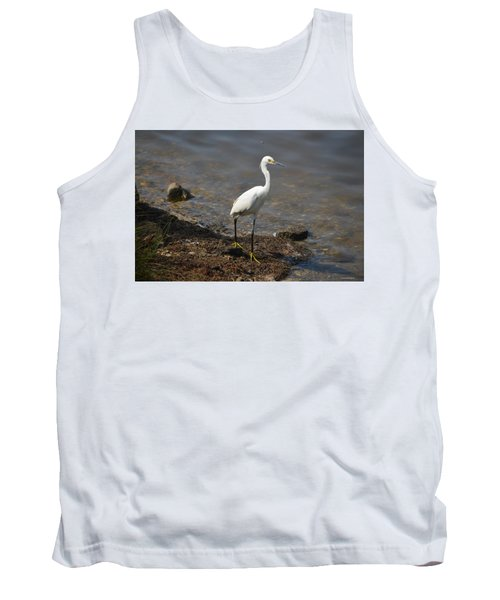 Egret 1 Tank Top by Gordon Mooneyhan