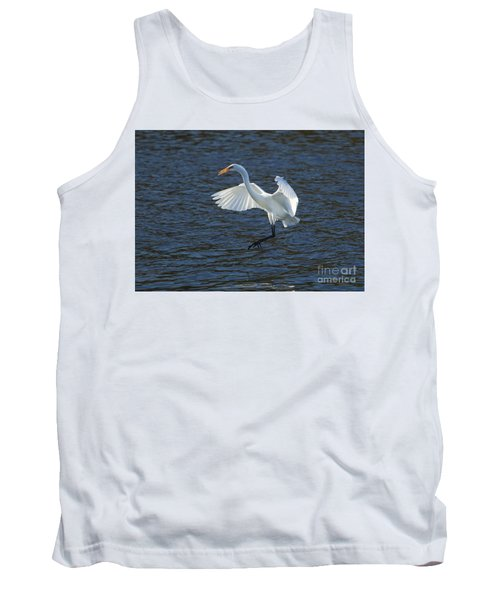 Egret Fishing Tank Top