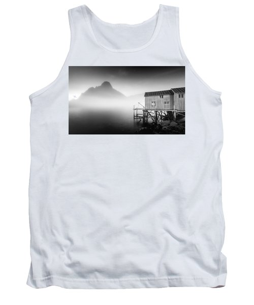 Egulfed By Mist Tank Top by Alex Conu