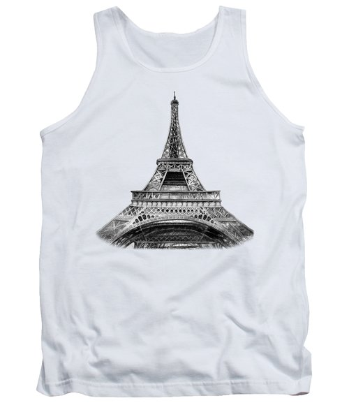 Eiffel Tower Design Tank Top