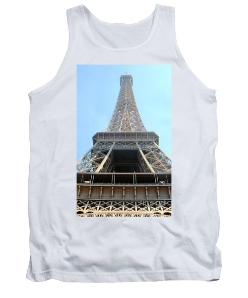 Eiffil Tower Paris France  Tank Top