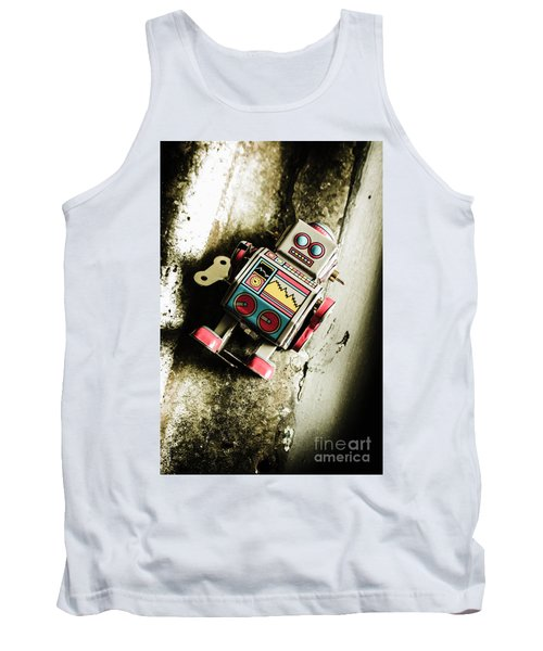 Eighties Cybernetic Droid  Tank Top