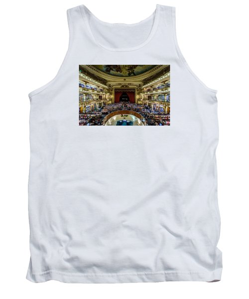 El Ateneo Grand Splendid Tank Top by Randy Scherkenbach
