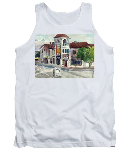 El Camino Real In San Carlos Tank Top by Donald Maier