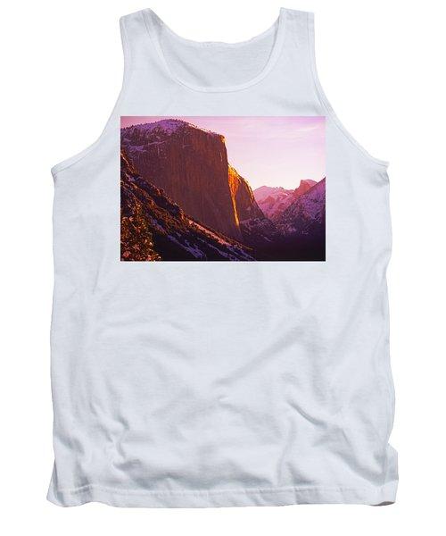El Capitan And Half Dome, Yosemite N.p. Tank Top