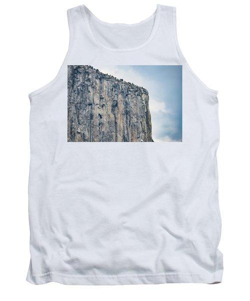 El Capitan Up Close And Personal From Tunnel View Yosemite Np Tank Top
