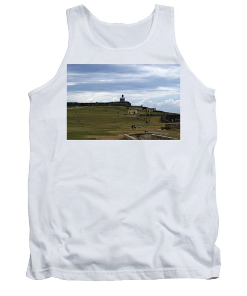 Tank Top featuring the photograph El Morro by Lois Lepisto