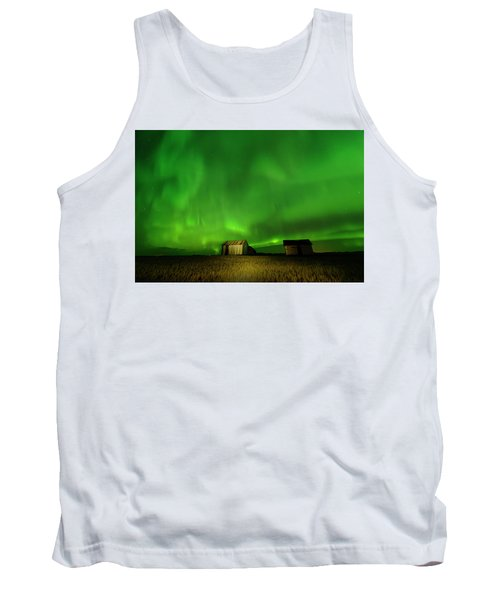 Electric Green Skies Tank Top