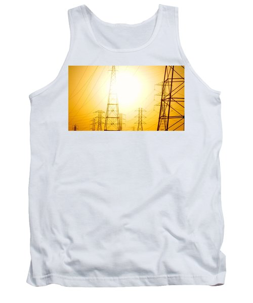 Electricity Towers Tank Top
