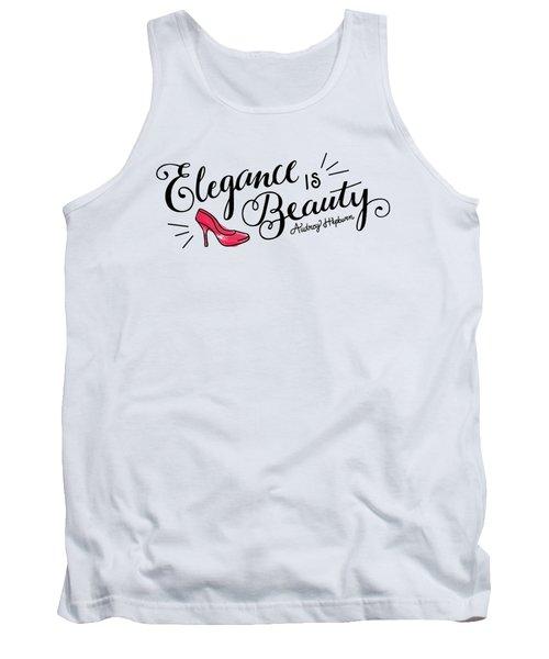 Elegance  Tank Top by Elizabeth Taylor