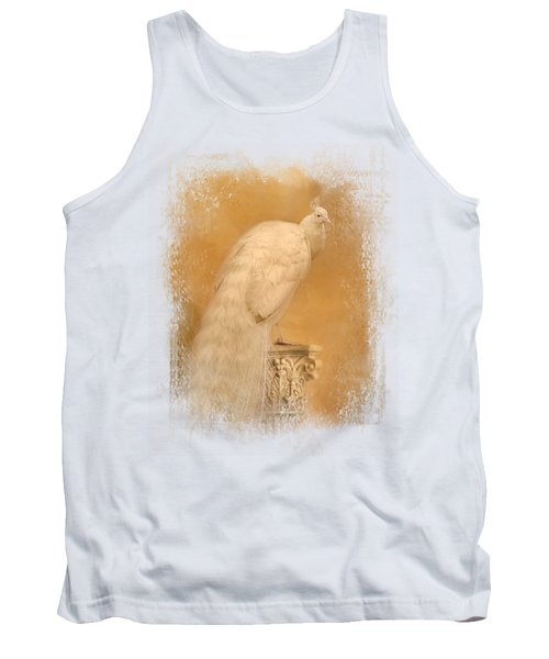 Elegance In Gold Tank Top by Jai Johnson